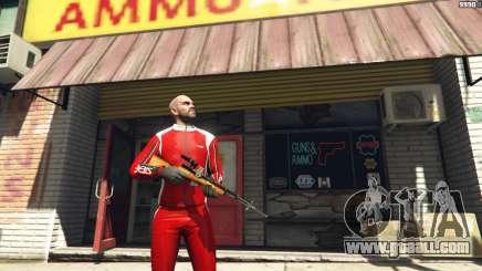 Self-loading carbine Simonov for GTA 5