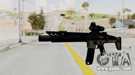 SCAR MK16 for GTA San Andreas