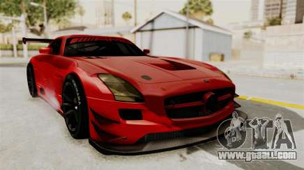Mercedes-Benz SLS AMG GT3 PJ2 for GTA San Andreas