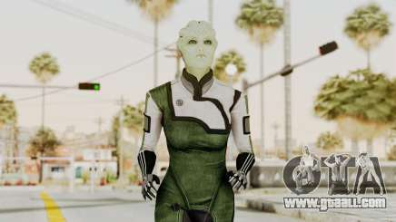 Mass Effect 2 Shiala for GTA San Andreas
