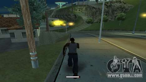The indicator running fast for GTA San Andreas second screenshot