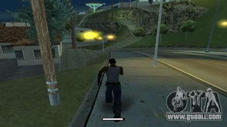 The indicator running fast for GTA San Andreas second screenshot
