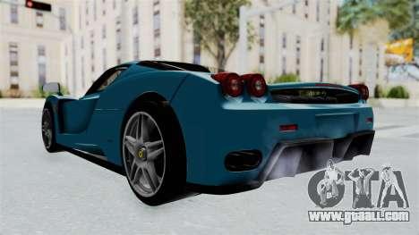 Ferrari Enzo for GTA San Andreas right view