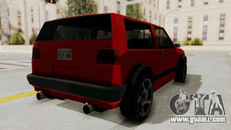 Club GTI for GTA San Andreas right view