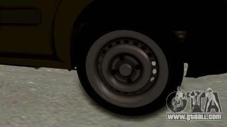 Dacia Logan MCV Van for GTA San Andreas back view