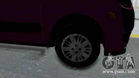 Fiat Doblo for GTA San Andreas back view