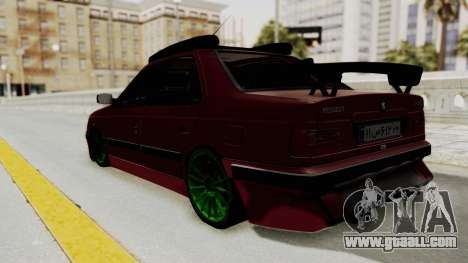 Peugeot Pars Sport for GTA San Andreas left view