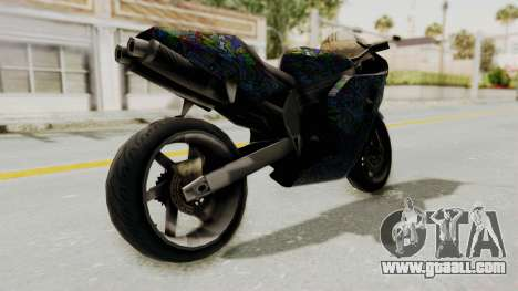 FCR-900 Stunt for GTA San Andreas back left view