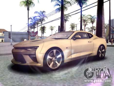 Chevrolet Camaro SS 2016 for GTA San Andreas left view