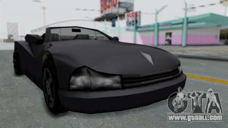GTA 3 Cheetah Topless for GTA San Andreas
