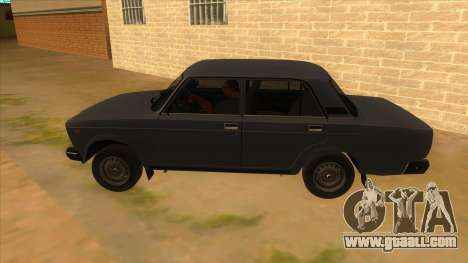 VAZ 2107 RUSSIA for GTA San Andreas left view