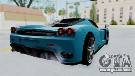 Ferrari Enzo for GTA San Andreas left view