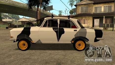 AZLK 412 for GTA San Andreas back left view