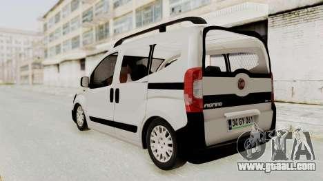 Fiat Fiorino 2014 for GTA San Andreas back left view