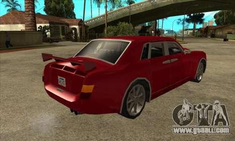 Rolls Royce Phantom for GTA San Andreas right view