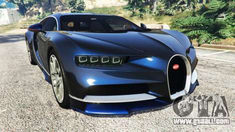 Bugatti Chiron for GTA 5
