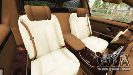GTA 5 Maybach 62 S right side view