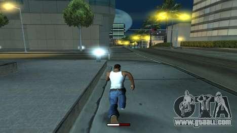 The indicator running fast for GTA San Andreas third screenshot