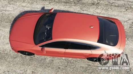 GTA 5 Audi A7 2015 back view