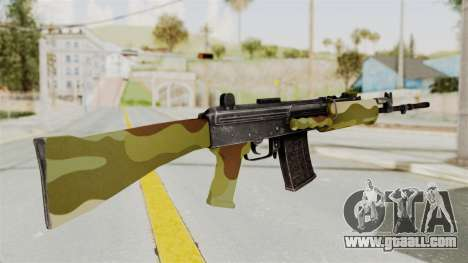 IOFB INSAS Camo v1 for GTA San Andreas second screenshot