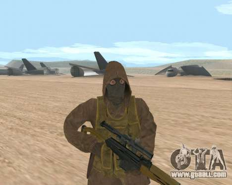 Soviet Sniper for GTA San Andreas third screenshot