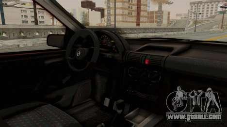 Chevrolet Corsa Hatchback Tuning v1 for GTA San Andreas inner view