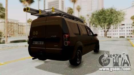 Dacia Logan MCV Van for GTA San Andreas right view