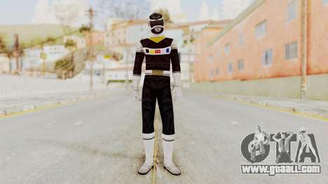 Power Rangers In Space - Black for GTA San Andreas second screenshot