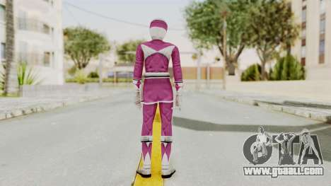 Mighty Morphin Power Rangers - Pink for GTA San Andreas third screenshot