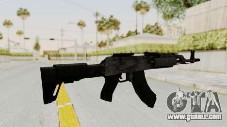 AK-47 Modern for GTA San Andreas third screenshot