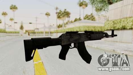 AK-47 Modern for GTA San Andreas third screenshot