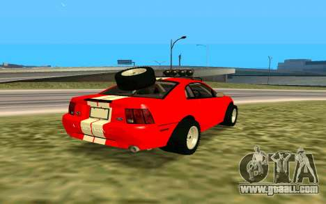 Ford Mustang 1999 for GTA San Andreas back view