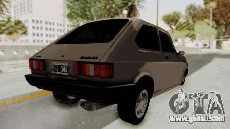 Fiat 147 TR De Picadas for GTA San Andreas right view