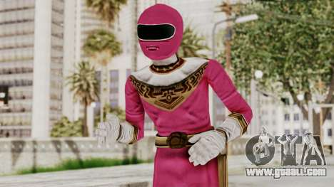 Power Ranger Zeo - Pink for GTA San Andreas