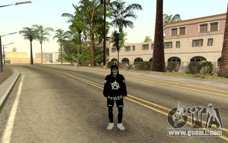 New homeless v4 for GTA San Andreas