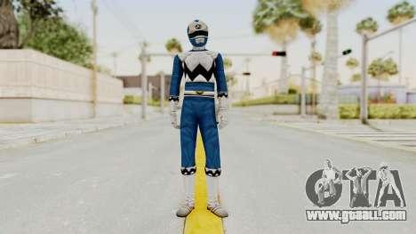 Power Rangers Lost Galaxy - Blue for GTA San Andreas second screenshot