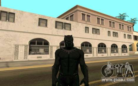 Black Panther confrontation for GTA San Andreas