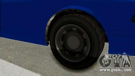 GTA 5 Vapid Stanier II Police Cruiser 2 for GTA San Andreas back view