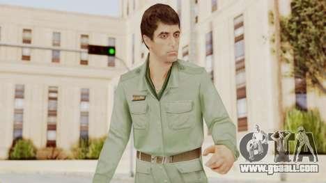 Scarface Tony Montana Army Costume for GTA San Andreas