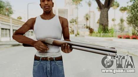 Liberty City Stories Shotgun for GTA San Andreas third screenshot