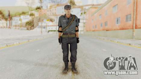 MGSV Phantom Pain Zero Risk Security LMG v2 for GTA San Andreas second screenshot