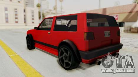 Club GTI for GTA San Andreas left view