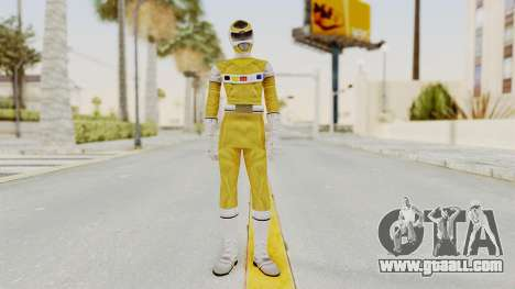 Power Rangers In Space - Yellow for GTA San Andreas second screenshot