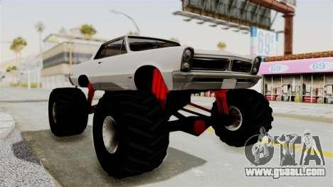 Pontiac GTO Tempest Lemans 1965 Monster Truck for GTA San Andreas