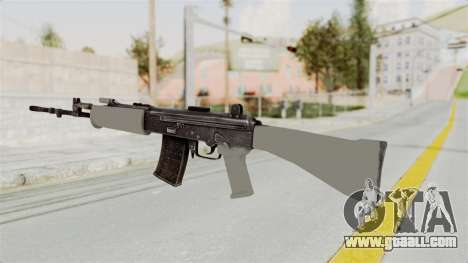 IOFB INSAS Grey for GTA San Andreas second screenshot