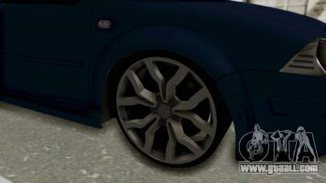 Volkswagen Bora 1.8T for GTA San Andreas back view