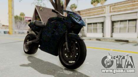 FCR-900 Stunt for GTA San Andreas right view