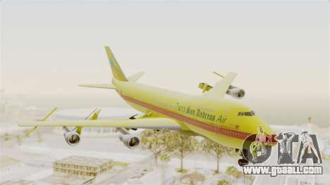 Boeing 747-200 Trans San Andreas Air for GTA San Andreas back left view