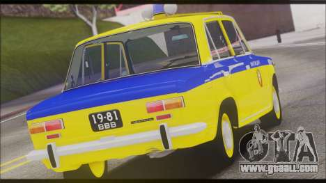 VAZ 2101 for GTA San Andreas inner view