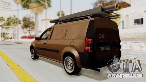 Dacia Logan MCV Van for GTA San Andreas left view